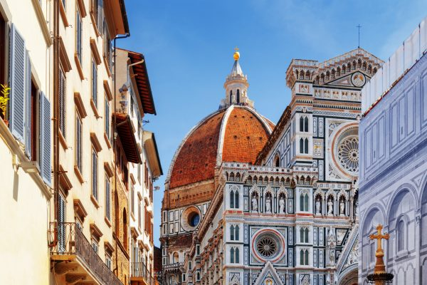 The Florence Cathedral at historic center of Florence - Viaje a Italia